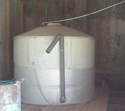 мини метан реактор