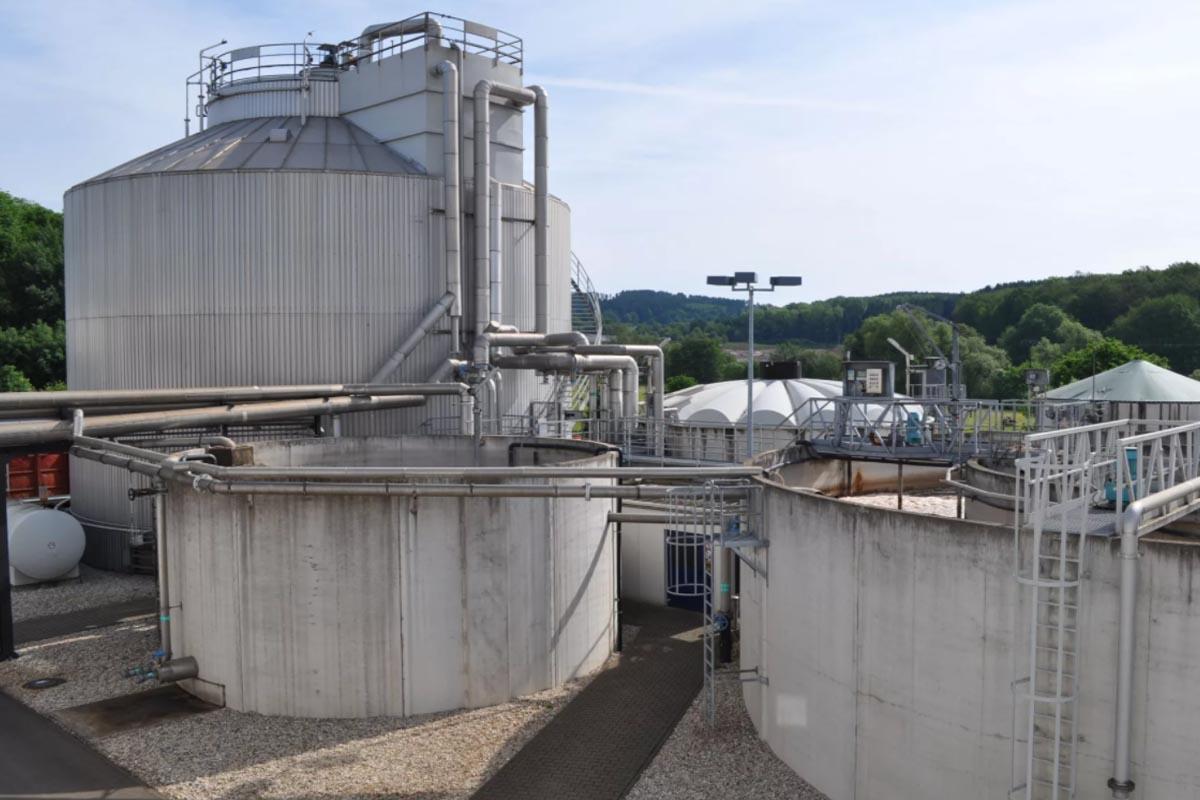 Метантенк для биогазовой установки