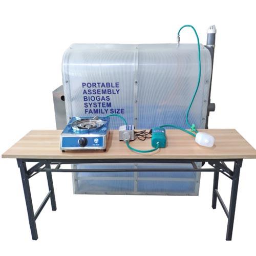 мини биогазовая установка для дома