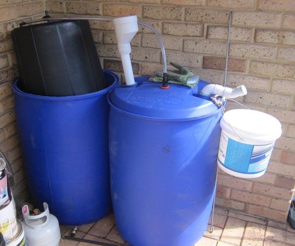 мини биогазовая установка для получения метана