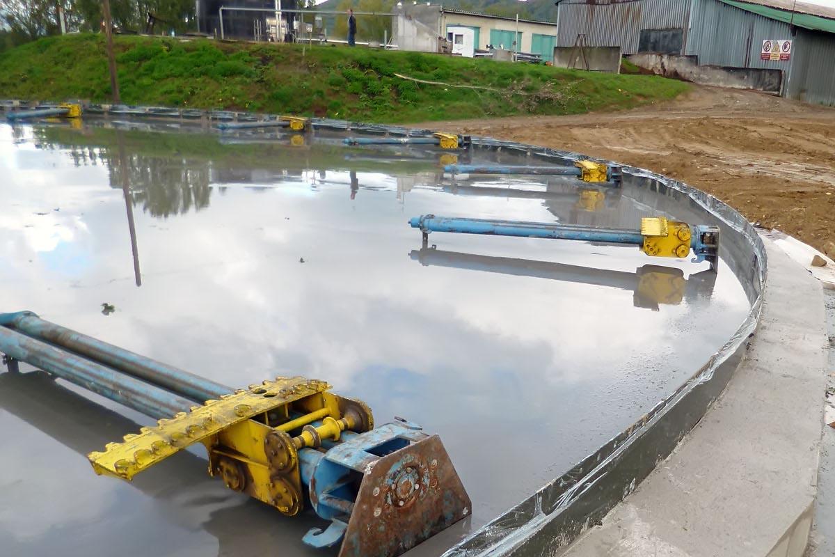 перемешивающие устройство биогазовой установки