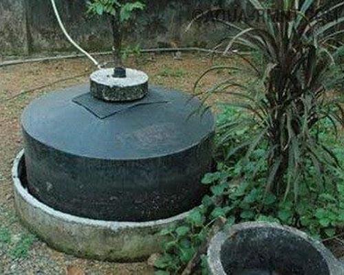 биогазовый реактор с плавающим куполом