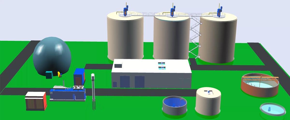 размещение биогазовых установок