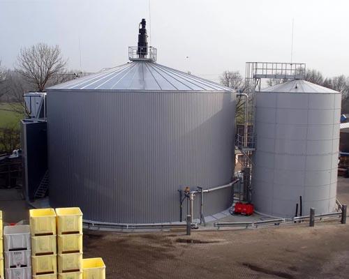 биогазовые установки с непрерывной загрузкой