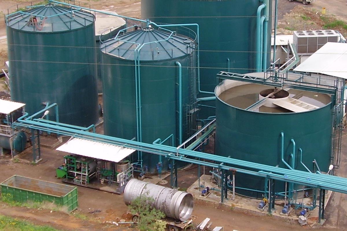 трубопровод биогазовой установки