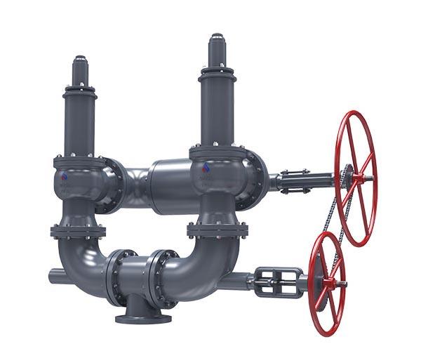 запорная арматура для биогаза