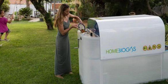 маленькая биогазовая для частного дома