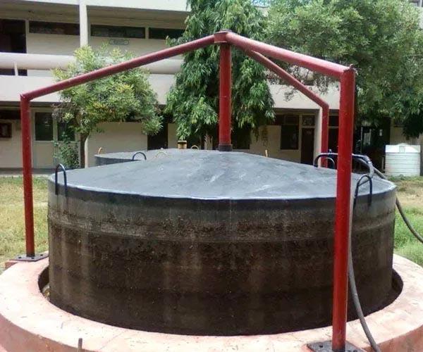 маленькая биогазовая установка для дома