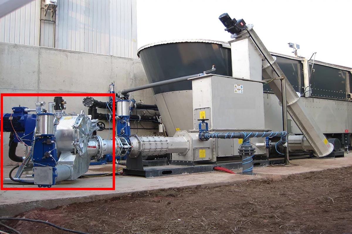 насос для биогазовой установки