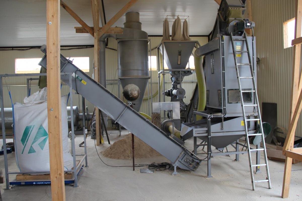 оборудование для производства гранул