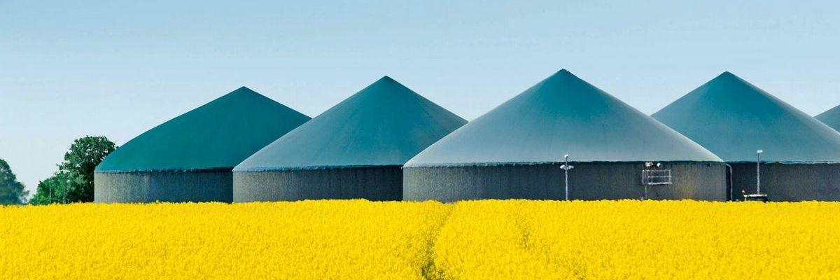 Биогазовая установка для производства биогаза