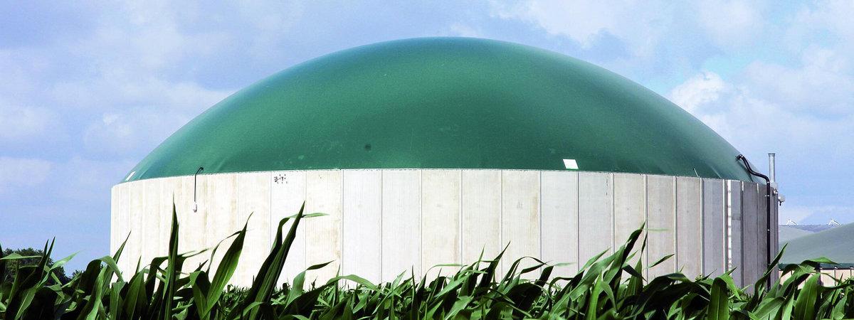 Биогазовый реактор