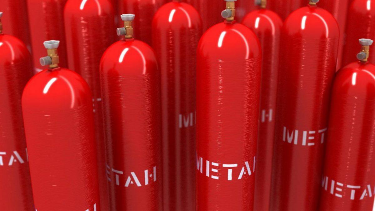 Биогазовая установка для получения метана
